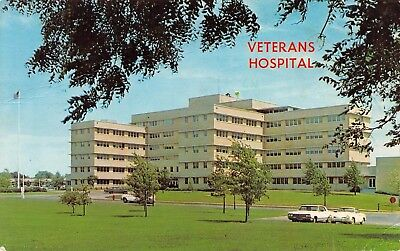 Va Topeka Ks >> Vtg Va Veterans Administration Hospital In Topeka Kansas Ks Postcard