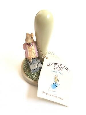 "Brown Bag Cookie Stamp Art Cookie - BEATRIX POTTER ""The Tale of Benjamin Bunny"""