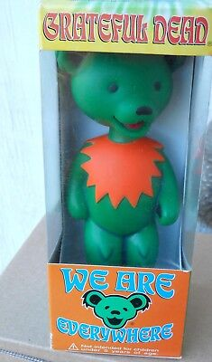 """Grateful Dead Green Dancing Bear """"stagger Lee"""" 7"""" Bobble Head We Are Everywhere"""
