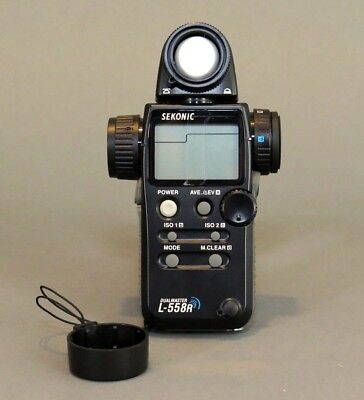 Sekonic L558R Light Meter