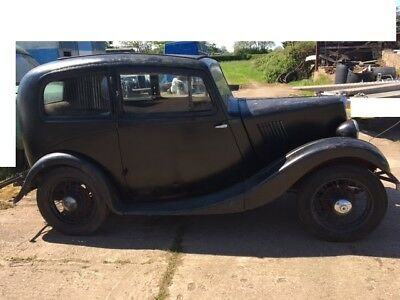 MORRIS 8 car / Restore PRE WAR 1936 ww11 with V5C age related number  NO RESERVE