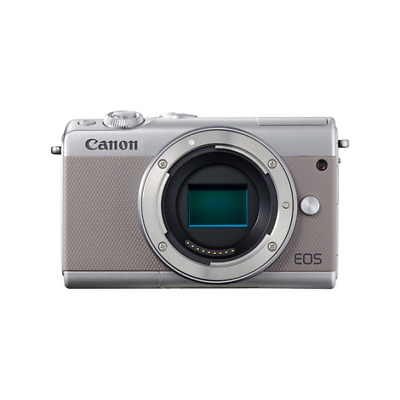 Canon 2211C002 EOS M100 Compact camera 24.2MP CMOS 6000 x 4000pixels Grey 3:2 -