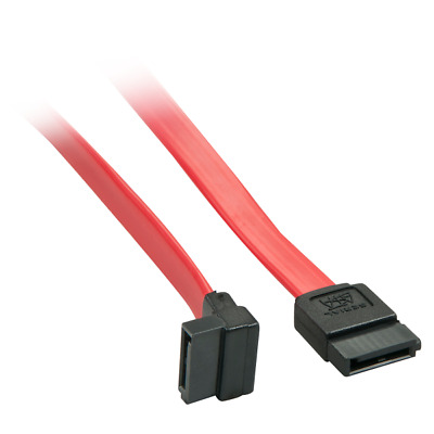 Lindy 33352 33352 0.7m internal power cable SATA Cable with 90° Plug -