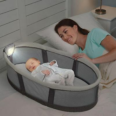Serta Icomfort Premium Infant Sleeper With Vibration Night Light