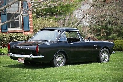 1965 Sunbeam Alpine  1965 Sunbeam Alpine Mark IV Convertible Roadster with Hardtop