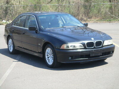 2003 BMW 5-Series 530I LEATHER! SUNROOF! LOADED! ICE COLD A/C! 2003 BMW 530i NO RESERVE CLEAN! RUNS DRIVES GREAT!