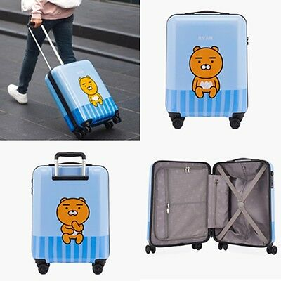 Kakao Friends Ryan Travel Luggage 21 inch ABS Trolley Spinner Carry On Suitcase