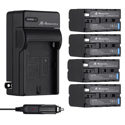 8800mAh NP-F970 NP-F960 Battery + Charger for Sony NP-F550 NP-F950 NP-F770 F570