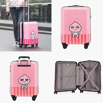 Kakao Friends Apeach Travel Luggage 21 inch ABS Trolley Spinner Carry On