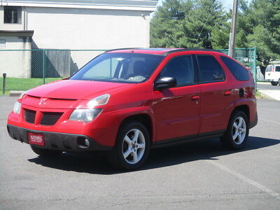 2005 Pontiac Aztek AWD 4WD 4X4 1 OWNER! LOW MILES! ICE COLD A/C! NO RESERVE! ARM REST COOLER! CLEAN! RUNS DRIVES GREAT!
