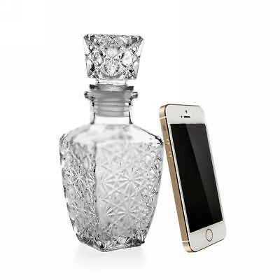 Glass Whiskey Liquor Wine Drinkware Decanter Crystal Bottle Wine Carafe 250ML