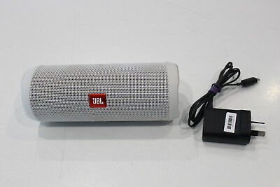 Excellent Condition - JBL Flip 4 Portable Waterproof Speaker White
