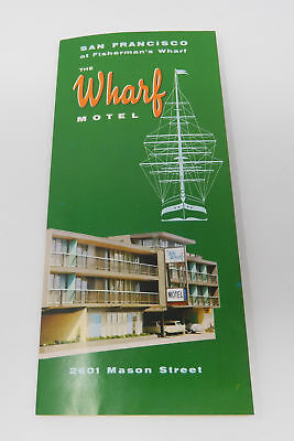 Vintage 1960's Wharf Motel Travel Brochure San Francisco California