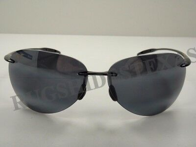 NEW Maui Jim Sunglasses SUGAR BEACH Neutral Grey Polarized 421-02
