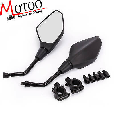 Rear View Mirrors Side Mirrors Connectors For Polaris Sportsman ATV Dirt Bike