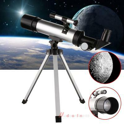F36050 Astronomical Telescope Tripod W/ Finderscope For Beginners Kids Gift Hot