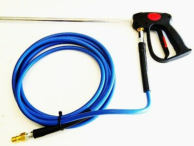 Carpet Cleaning Prespray Hose, Gun, Lance assembly