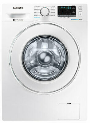 NEW Samsung WW85J54E0IW 8.5kg BubbleWash Front Load Washing Machine with Steam