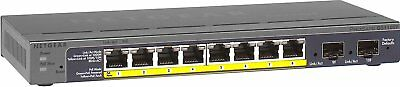 NETGEAR GS110TP ProSAFE 8-Port Gigabit PoE Smart Switch Free Postage