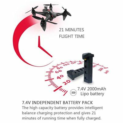 WIFI RC Quadcopters 5G Remote Drone W/ 720P Camera GPS FPV Brushless Control RTF