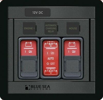 Blue Sea 1148 ML-Series Battery Switch Remote Control Panel