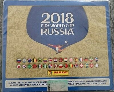 Panini 2018 Fifa World Cup Russia Album Stickers Full Box