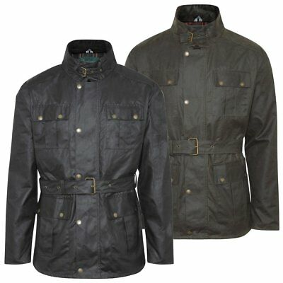New Forest Men's Antique Wax Jacket