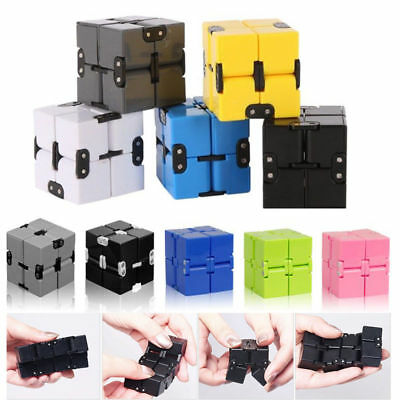 Mini Magical Infinity Cube Relief Fidget Anti Anxiety Funny Toy Gift For Stress