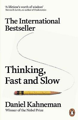 Thinking, Fast and Slow by Daniel Kahneman (2013, eBooks)