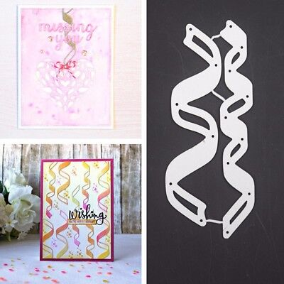 Lace Ribbon Metal Cutting Dies For DIY Scrapbooking Embossing Die Stencil Crafts