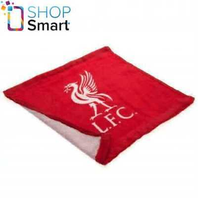 Liverpool Fc Face Cloth Towel Red 100% Cotton Football Soccer Club Team New