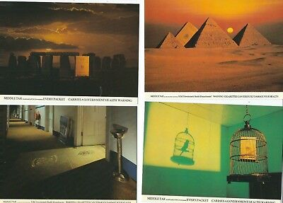 Advertising Another 4  Postcards  Benson And Hedges  Cigarettes   (Smoking)