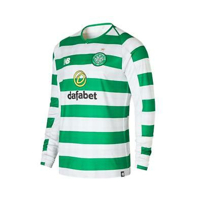 New Balance Celtic Home Mens Long Sleeve Jersey 2018/2019
