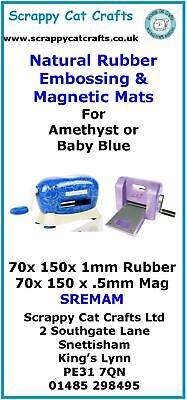 etc Mats /& Shims SACCAM  2 Baby Blue Die Cutter Accessory Pack for Amethyst