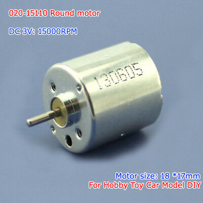 4pcs 3V-4.5V 10000rpm-15000rpm High Speed DC Micro Motor For DIY Toy HM Parts