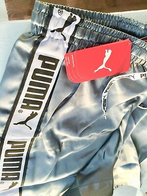 PUMA WETLOOK Glanz Shiny Nylon Hose Shorts Glanzshorts CalSurf