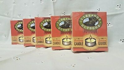 5 x The Emergency Candle And Survival Guide (Labrador Outdoor)