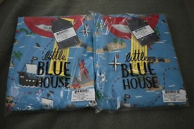2 pairs of kids PJs - Little Blue House by Hatley