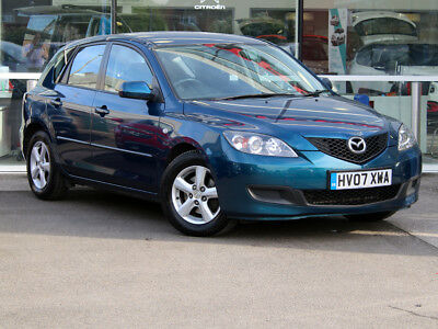 2007 07 MAZDA MAZDA3 3 1.4 TS 5dr [AC]- PETROL - SMART COLOUR - ONLY 90616 MILES