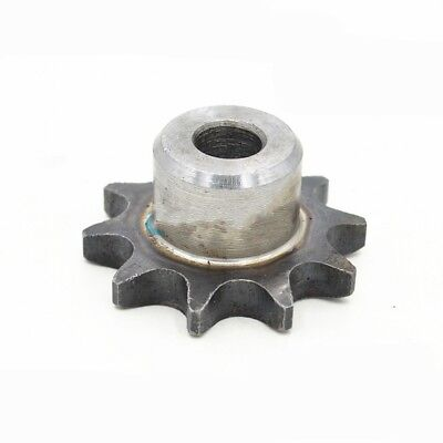 "#25 Chain Drive Sprocket 17T Pitch 1/4"" Outer Dia 37mm For #25 04C Roller Chain"