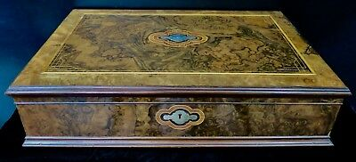 Vintage 19th Century Victorian Wood Box