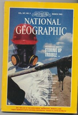 **NATIONAL GEOGRAPHIC** Volume 167, Issue 3 (March 1985) - VGC