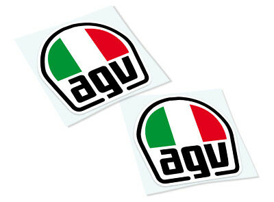 AGV Classic Retro Car Motorcycle Decals Stickers