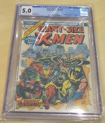 Giant-Size X-Men #1 5.0 Grade Marvel Comics, Summer 1975