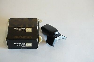 Boxed OM Olympus TTL Auto Connector Type 4 Accessory shoe 4