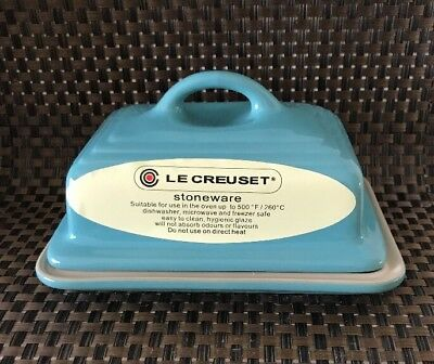 Le Creuset Butter Dish - Teal  (NEW)