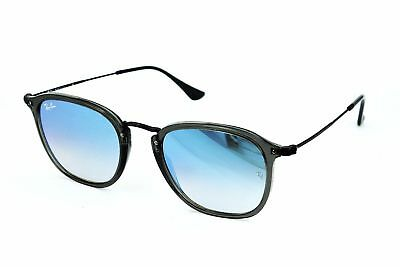 7de86a8b67 New Authentic Ray-Ban Sunglasses RB2448N Gray Violet 6255 4O Blue Flash 51mm