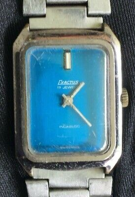 960824e2a349 Exactus  70 vintage watch reloj 26 mm swiss cuerda manual winding  funcionando -