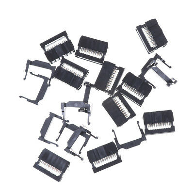 10PCS IDC 10 PIN Female Header  FC-10 2.54 mm pitch Socket Connector GW