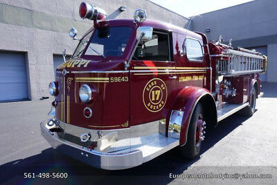 1953 American LaFrance Fire Truck  1953 American LaFrance 700 SERIES FIRE TRUCK - COMPLETELY RESTORED